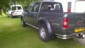 Good clean pick-up / will come with 1 years MOT