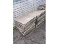 SLABS AKA PAVING STONES (Free to a good home, or a bad home I don't care I just want rid of em!)!