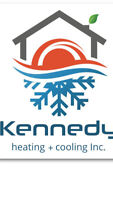 Kennedy heating +cooling INC  - great rates !