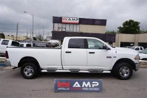 "2011 Ram 2500 SLT SIDEBOARDS4X4 HEMI 8""BOX HARD COVER CLEAN"
