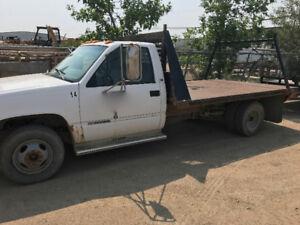 1999 GMC Flatdeck 3500 Truck