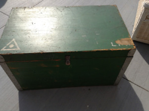 Solid wood storage box for sale