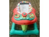 MAMAS & PAPAS BABY WALKER WITH INTERACTIVE SOUND PANEL