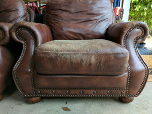Love Seat Couch & 2 Armchairs