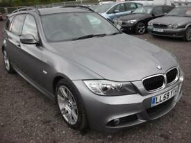 BMW 3 SERIES 2.0 320D M SPORT TOURING 5d 175 BHP (grey) 2010