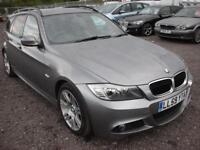BMW 3 SERIES 2.0 320D M SPORT TOURING 5d 175 BHP (grey) 2010
