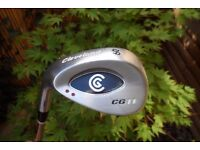 Cleveland CG 11, Left Handed Steel Shafted 60 Degree Lob Wedge