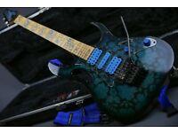 1990's Ibanez Jem77BFP Steve Vai Blue Floral Pattern - Not a Reissue!