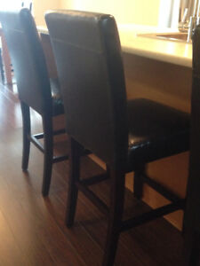 CANVAS Leather Stools for Sale