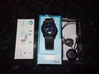 Philips Bluetooth Health & Activity Watch with Heart Rate Monitor /Mint Condition/