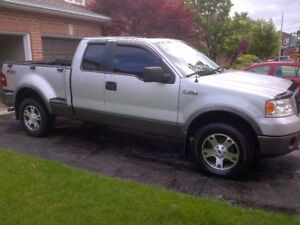 2006 FORD F-150 FX4 SUPERCAB 4X4 PICKUP TRUCK FLARESIDE