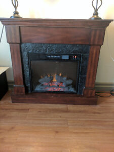 Electric Fireplace. Great Condition.