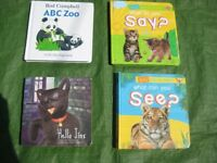 Four Hardback Books in Colour for Your Young Child to Enjoy for £5.00