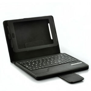 real leather bluetooth tablet keyboard case