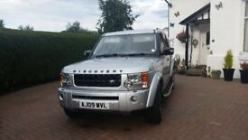 LANDROVER DISCOVERY 3 HSE TDV6 FULL BLACK LEATHER 7 SEATS 09' 2009. FULL SERVICE HISTORY YEARS MOT