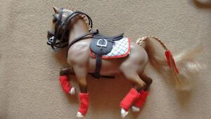 GRAND CHAMPION Model Horses + ORIGINAL 1990s Accessories