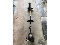 McCulloch Grass strimmer with manual, oil and petrol container