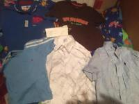 Boys cloths from ages 3-7 yrs new