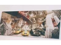 New York city canvas