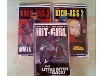 Kick-Ass comic bumper pack vols 1,2 and Hit-Girl mini series