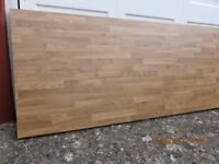 Oak Block Effect Worktop
