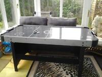 air hockey table good used condition one score pointer missing works well