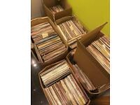 Large lot of Vinyl LP Record Albums