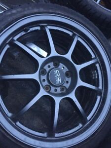 OZ racing 18 wheels VW pattern with winters