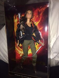 Hunger Games Black Label Katniss Barbie Doll