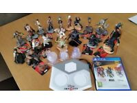 Disney Infinity 3.0 PS4 Star Wars games and Figurines