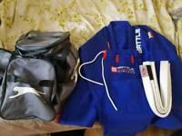 NEW Gi - sports gear, jacket, pants, belt and bag