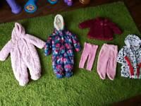Girls clothing bundle. 6-9 months. 7 items. Like new.