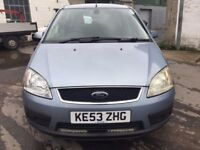 2004 Ford Focus c-max diesel, starts and drives well, MOT until March 2018, clean inside and out, ca