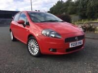 2009(59) Fiat Grande Punto 1.4 GP Low Mileage With Full Service History + Not Corsa Yaris Polo
