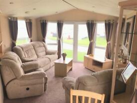 3 BEDROOM STATIC CARAVAN FOR SALE ,DOUBLE DOORS , DEPOSITS FROM 10%