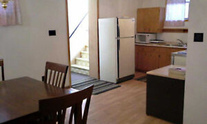 Larger two bedroom apartment/ washer/dryer/fridge/stove.