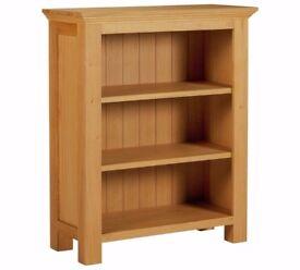 Ex-Display Kingsbury Small Oak & Oak Veneer Bookcase
