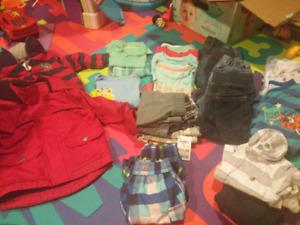 12m boys clothing few 12-18