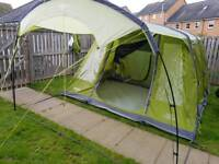 Vango Solaris 500 airbeam tent with footprint
