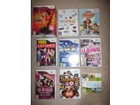 Nintendo Wii and games and all accessories