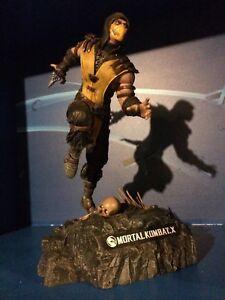 Mortal Kombat X statue