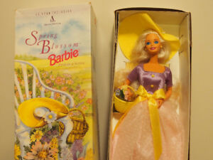 1995 Spring Blossom Barbie (First in Series)