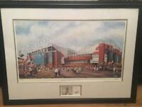 Limited Edition Manchester United Picture by Brian Hill