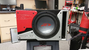 """ALPINE 12"""" RD SUBWOOFER,,,WORKS GREAT FOR HOME THEATRE AS WELL"""