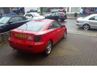 Toyota Celica for sale good condition quickly sale tel 07909171326