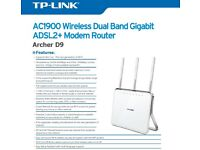 TP-LINK AC1900 wireless router.