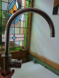Grohe kitchen TAP EUROSMART COSMOPOLITAN Sink Mixer; Swivel High Spout, Chrome, as new; BARGAIN