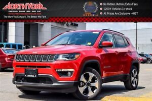 2017 Jeep Compass New Car North|4x4|AdvncdSafetyPkg.|Nav.|Pano.S