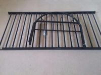 Single Bed Frame (Black and no mattress)