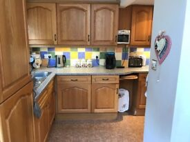 Kitchen appliances and cabinet doors